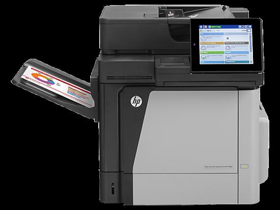 Picture of HP Color LaserJet Enterprise MFP M680dn - CZ248A#BGJ