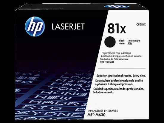 Picture of HP 81X High Yield Black Original LaserJet Toner Cartridge