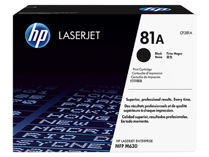 Picture of HP 81A Black Original LaserJet Toner Cartridge
