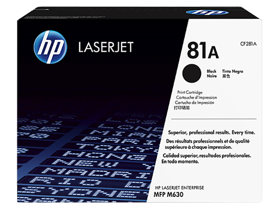 Picture of HP 81A Black Original LaserJet Toner Cartridge