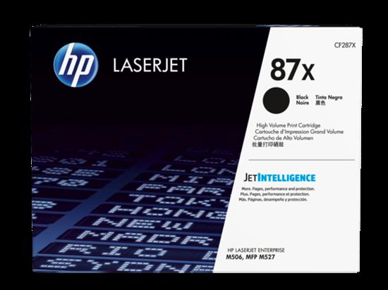 Picture of HP 87X High Yield Black Original LaserJet Toner Cartridge