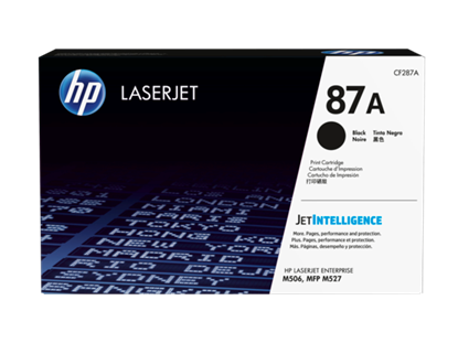 Picture of HP 87A Black Original LaserJet Toner Cartridge