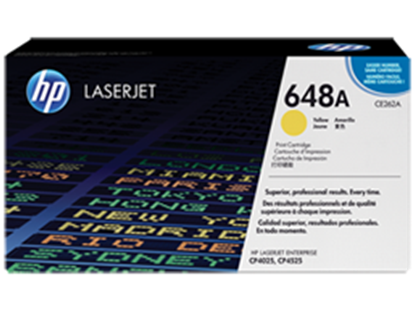 Picture of HP 648A Yellow Original LaserJet Toner Cartridge