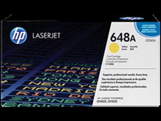 Picture of HP 648A Yellow Original LaserJet Toner Cartridge
