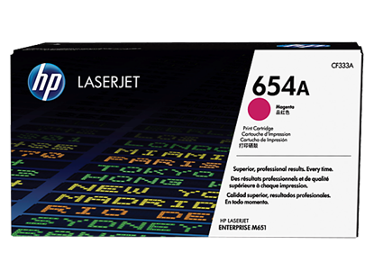 Picture of HP 654A Magenta Original LaserJet Toner Cartridge
