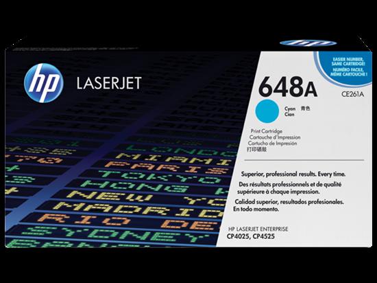 Picture of HP 648A Cyan Original LaserJet Toner Cartridge