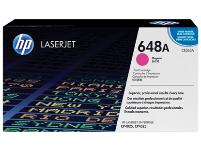 Picture of HP 648A Magenta Original LaserJet Toner Cartridge