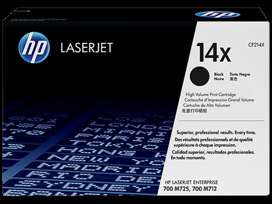 Picture of HP 14X High Yield Black Original LaserJet Toner Cartridge