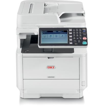 Picture of Oki MB562W LED Multifunction Printer - Monochrome - Copier/Fax/Printer/Scanner - 62445101